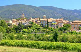 Village de Lourmarin en Provence