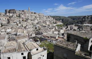 Village de Matera dans les Pouilles