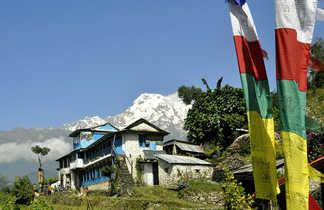 Village des balcons des Annapurnas
