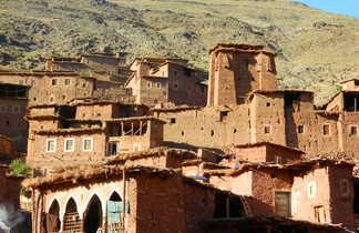 Village du Haut Atlas Central, Maroc