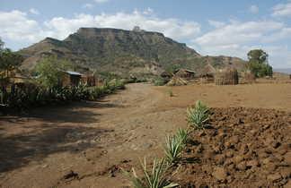 Village en Ethiopie