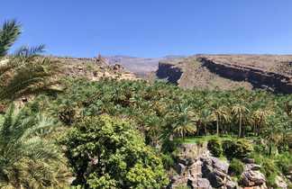 Village et palmeraie de Misfat, Oman