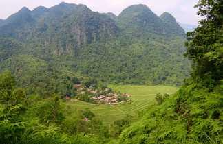Village nord Vietnam