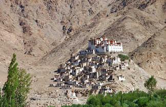 Village perché au Ladakh, Hemishukpachen