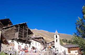 Village typique dans les Alpes