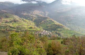 Ville de Prizren au Kosovo