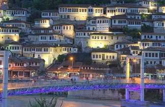 Ville de Saranda en Albanie