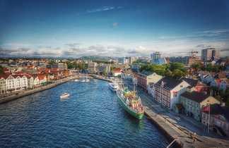 Stavanger, ville de Norvège