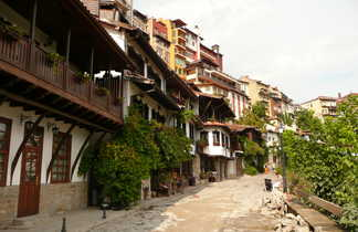 Ville de Veliko Tarnovo, une des plus anciennes villes de Bulgarie