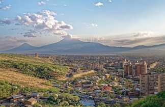 Ville d'Erevan, capitale d'Arménie