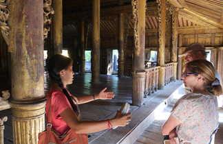 Visite du monastère du Shwe Nandaw à Mandalay
