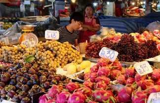 voyage Thailande, trek Thailande, marché Thailande