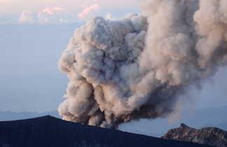 Volcan Semeru à Java