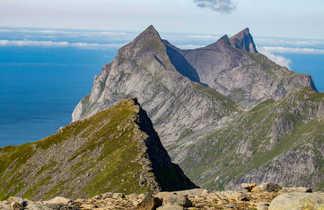 Voyage dans les îles lofoten, sommet du Munkan