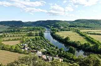 Rivière Dordogne Périgord Sud-Ouest France