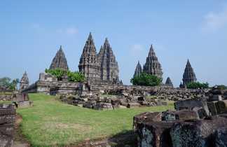 Vue de Temple Prambanan