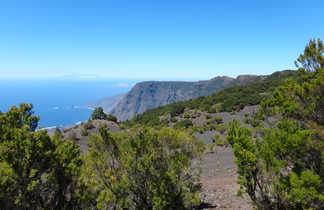 Vue panoramique sur la mer à Tenerife