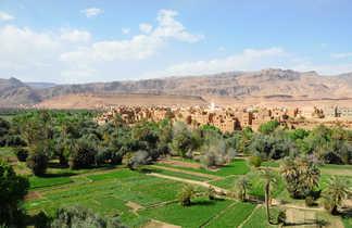 palmeraie de Tineghir gorges du Todra Maroc