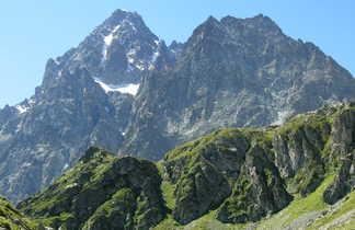 Vue sur le Mont Viso, Alpes du sud