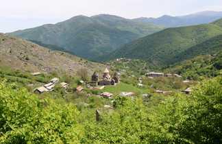 Vue sur l'église de Gochavank
