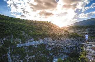 Vue sur les magnifiques Gorges du Verdon