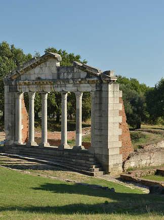 Albanie, site d Apollonia