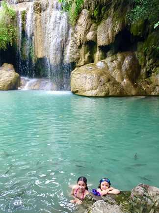 Thailande, Erawan, Cascade