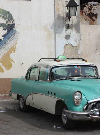 belle américaine la Havane Cuba