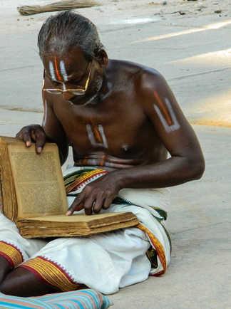 Brahmane à Pondichéry