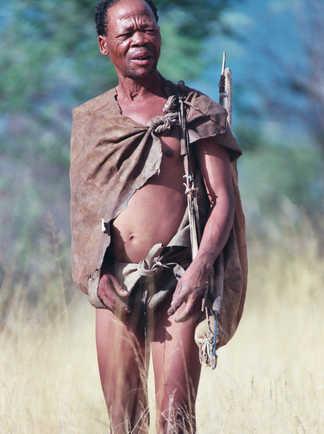 Bushman au Botswana