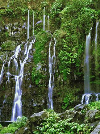 Cascade du Langevin à la Réunion