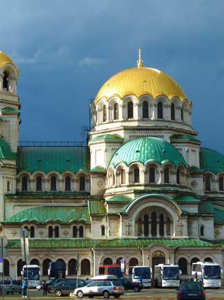 Cathédrale Alexandre-Nevski à Sofia, Bulgarie