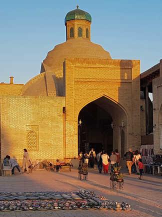 centre artisanal de Boukhara