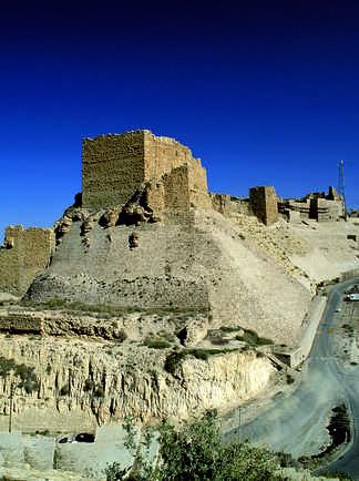 Citadelle de Kerak, Jordanie