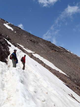 Col d'Aguelzim vers le M'Goun, Maroc
