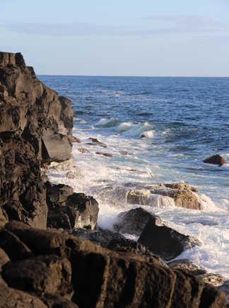 Côte altantique de l'île de Pico, Açores