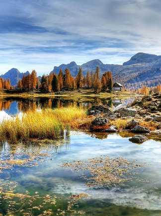 Croda da Lago Dolomites