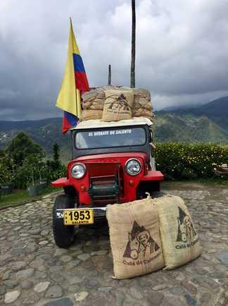 Culture du café, Vallée de Cocora