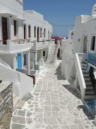 cyclades, sifnos, village de kastro