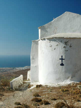 eglise blanche des Cyclades