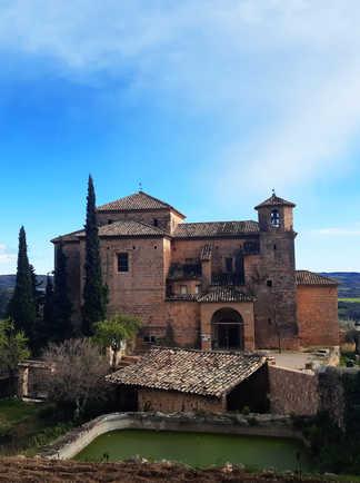 Eglise du village d'Alquezar