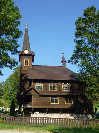 Eglise du village de Tatranská Javorina