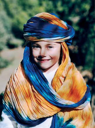 Enfant portrait, Maroc