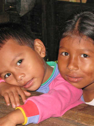 Enfants du Costa Rica