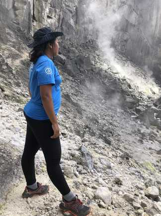 Guide Altaï, Volcan Sibayak, Sumatra, Indonésie