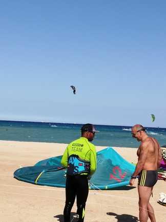 windsurf et kitesurf au Ion club Safaga en Egypte