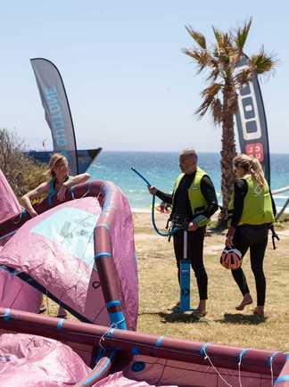 kitesurf course à Tarifa avec ION CLUB