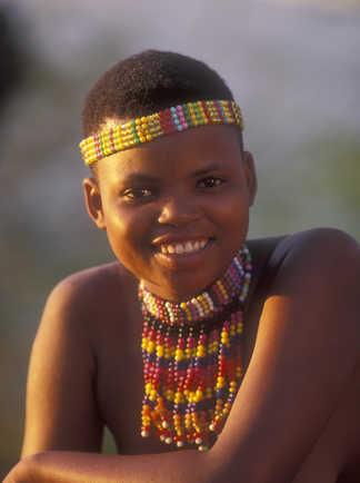 Jeune fille du Swaziland