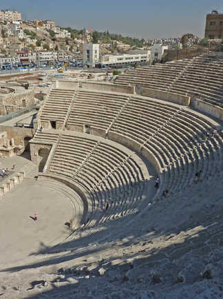 Jordanie - Amman - Théâtre Romain