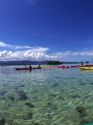 Kayak sur les rivages du Parc Natinal d'Abel Tasman